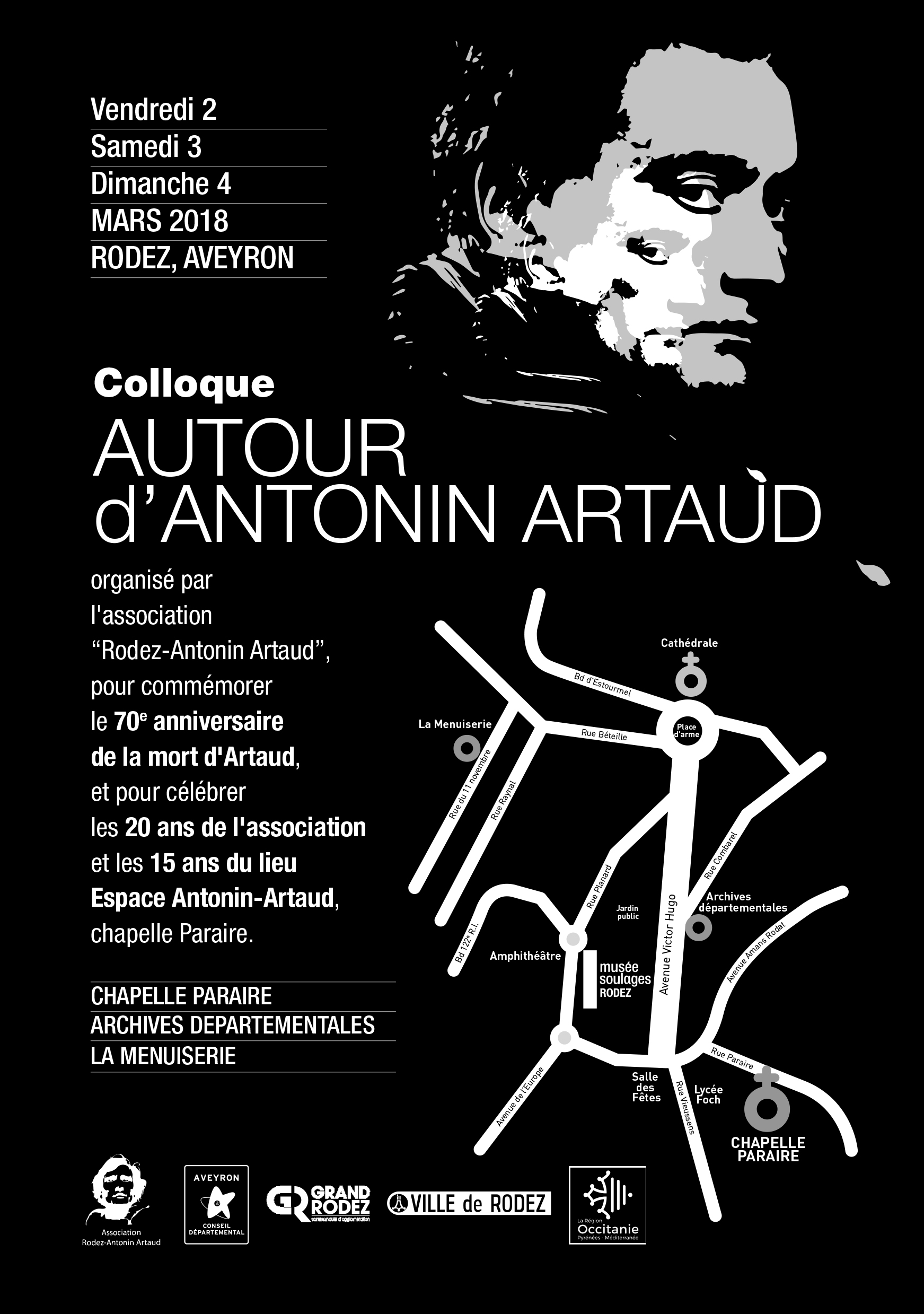 colloque antonin artaud lectures filippo de dominicis. Black Bedroom Furniture Sets. Home Design Ideas